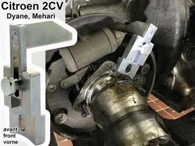 Citroen-2CV Bremsenzentrierung: Bremsbelag Zentrierwerkzeug vorne, für die Trommelbremse. Passend für