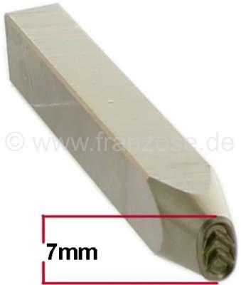 Citroen-2CV Einschlag-Stempel