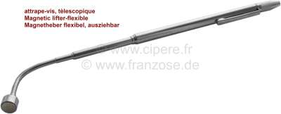 Citroen-DS-11CV-HY Magnetheber flexibel + Waschdüsen Einstellwerkzeug. Dieser Magnetheber kann ausgezogen wer