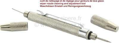 Sonstige-Citroen Scheibenwaschdüse Reinigungs und Einstellwerkzeug! Stabile Einstellspitze, dünner Reinigun