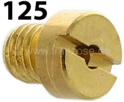 Citroen-2CV Vergaserdüse 2 Stufe, 2CV6. (ovaler Vergaser). Durchmesser: 125