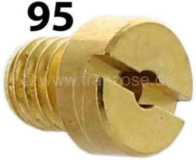 Citroen-2CV Vergaserdüse 2 Stufe, 2CV6 (ovaler Vergaser). Durchmesser: 95