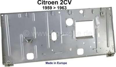 Citroen-2CV 2CV, Stirnwand für Citroen 2CV, AK, AZU. Verbaut von Baujahr 1959 bis 1963. Made in EU.