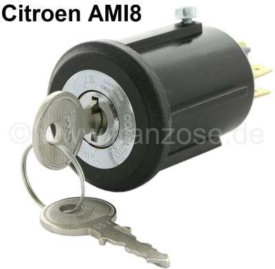 Citroen-2CV Zündschloss Nachbau, für Citroen AMI 8.