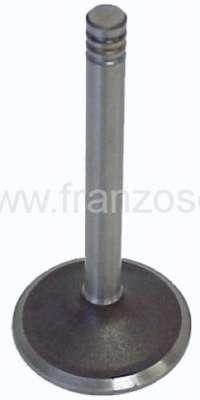 Citroen-2CV Ventil 2CV6, Auslass, per Stück. 34 x 87,1 x 8,5mm. Or.Nr.: 95536027