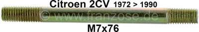 Citroen-2CV Ventildeckel: 2CV ab 1971, Stehbolzen M7x76mm, für die Aufnahme des Ventildeckel auf dem Z