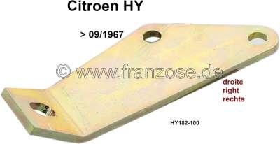 Citroen-DS-11CV-HY Auspuff Schalldämpfer Halterung rechts. Passend für Citroen HY, bis Baujahr 09/1967. Or. N