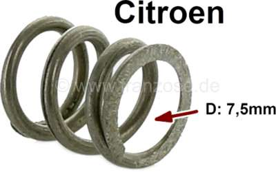 Citroen-DS-11CV-HY Batteriebügelfeder, 7mm Durchmesser. Passend für Citroen DS + HY.