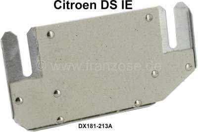 Citroen-DS-11CV-HY Auslasskrümmer Hitzeschutz Platte, mit Isolation (Befestigung mit 8 Nieten). Passend für C