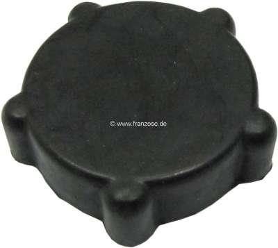 Citroen-DS-11CV-HY Gummiknauf für das Heizungsregulierventil, im Innenraum (Motortunnel). Passend für Citroen