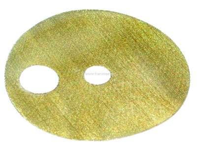 Citroen-DS-11CV-HY Benzinpumpen Filtersieb, für mechanische SEV Benzinpumpen. Ca. 67mm Durchmesser. Teilweise