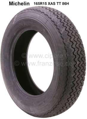 Citroen-DS-11CV-HY Reifen 165R15 XAS TT 86H. Hersteller Michelin. Passend für Citroen DS. Peugeot 403, Peugeo