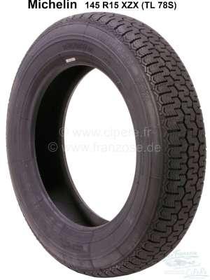 Sonstige-Citroen Reifen 145 R15 XZX (TL 78S). Hersteller Michelin. Passend für Citroen GS, GSA. Renault Dau