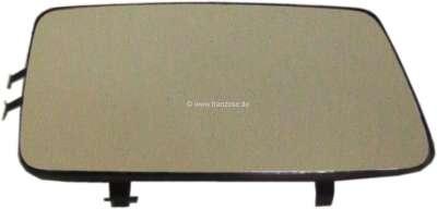 Sonstige-Citroen Spiegelglas rechts für Kunststoffspiegel CX Serie 1, ab Baujahr 10/1976. GSA, Visa. Made i