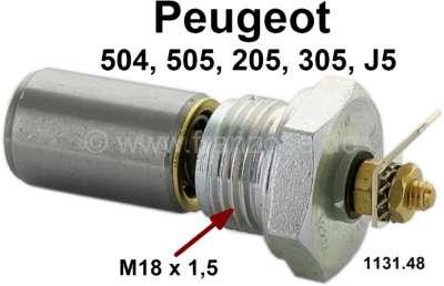 Peugeot Öldruckschalter. Gewinde: M18 x 1,5. Passend für Peugeot 504 (4 Zylinder + V6). Peugeot 30