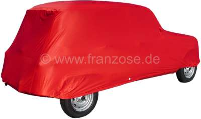 Autocover in rot f r renault r4 hochwertigster for Garage renault rots