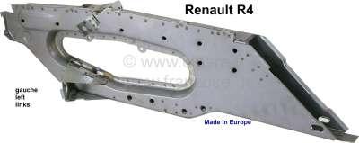 Renault R4, Motorhalterung (Holm komplett) vorne links am Chassis. Passend für Renault R4. Das Ble