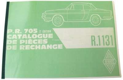 Renault Ersatzteilkatalog, Nachdruck. Passend für Renault Caravelle (R1131). 264 Seiten.