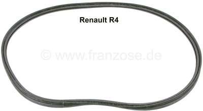 Renault R4, Heckscheibendichtung Renault R4 Limousine. Die Dichtung ist für die Montage eines Kuns