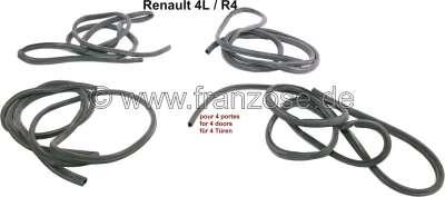 Renault R4, Türdichtung (Hohlprofil wie ersten Ausführungen), für alle 4 Türen! Passend für Renaul
