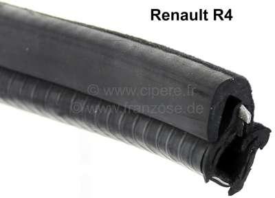 Renault R4, Fensterführung (Gummi), als Meterware. Passend für Renault R4, ab ca. Baujahr 1977. Pe