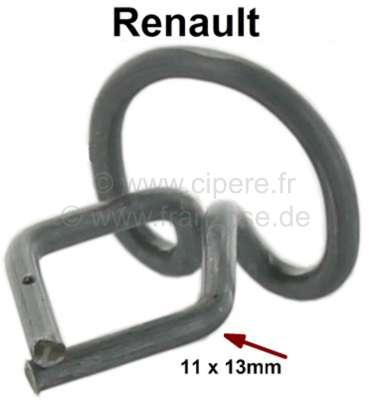 Renault Klammer (Drahtklammer) für die Schweller Zierleisten, mit 13mm Aufnahme. Passend für Renau