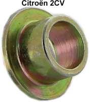 2CV6, Endrohr, Metallhülse für die Gummistreifen, womit die Auspuffrohre befestigt sind. (dann reißen die Gummis nicht mehr so schnell). Passend für Citroen 2CV6 + 2CV4. - 11118 - Der Franzose