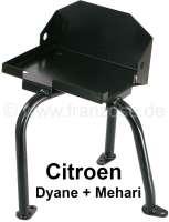 Batteriehalter für Citroen Dyane, ACDY Mehari. Die Halterung wird auf dem Chassis verschraubt. | 15630 | Der Franzose - www.franzose.de