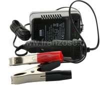 Batterie - Erhaltungslader, 6 + 12Volt / 300mA. Zum Überwintern der Batterie. Kontrolliertes Laden der Batterie z.B. über die ganze Winterzeit. Batterieschonender Langzeitanschluss, auch für wartungsfreie Batterien (Gel und Bleibatterien). -1 - 14224 - Der Franzose