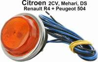 Seitenblinker+an+den+Kotfl%FCgeln+%28kompletter+Blinker%29.+Exakte+Kopie+der+original+verwendeten+Blinker.+Verbaut+nur+in+Italien+und+teilweise+Spanien.+Diese+Blinker+wurden+bei+dem+Citroen+2CV%2C+Mehari+und+DS+verbaut.+Teilweise+auch+an+Renault+R4+und+Peugeot+504.