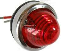 Blinker - Zierringe für die vordere Blinker (2 Stück), für Citroen 2CV. Auch passend für die Rückbeleuchtung Citroen AZU, AK400, DS Break, HY. Eigene Nachfertigung. Aluminium eloxiert. -1 - 16855 - Der Franzose
