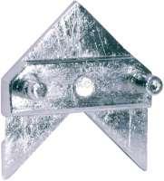 Citroen Emblem (Chevron) am Armaturenbrett. Passend für Citroen 11CV + 15CV, bis Baujahr 02/1952. Or. Nr. 802594. Abmessung: 38 x 40mm. Das Emblem kann auch universal verwendet werden. -1 - 60160 - Der Franzose