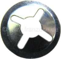 Halteclip (Sicherungsclip), für 4mm Stifte (Befestigung von Emblemen). Per Stück. Or. Nr. ZC9619867u - 37264 - Der Franzose