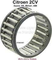 Nadellager Getriebe, passend für Citroen 2CV. Maß: 29,5 x 33,5 x 18,2mm. Or.Nr. ZC9620361 | 10326 | Der Franzose - www.franzose.de