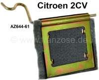 Abluftklappe Warmluft. Passend für Citroen 2CV alt, mit auf der Kurbelwelle montierter Lichtmaschine. Or. Nr. AZ644 61 | 90865 | Der Franzose - www.franzose.de