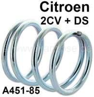 Feder seitlich, für die Bremsbacken (Feder für Haltestift-Bremsbacken). Passend für Citroen 2CV + Citroen DS. Or.Nr. A45185   13012   Der Franzose - www.franzose.de