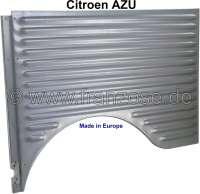 AZU, Kotflügel hinten links, für Citroen AZU. Kleines Wellblech. Der Kotflügel ist elektrolytisch verzinkt! Made in Europe. - 15326 - Der Franzose