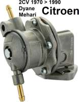 Benzinpumpe Nachbau, für Citroen 2CV6. - 10028 - Der Franzose