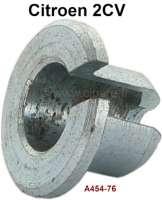 Stopphülse für den Kupplungszug (2CV bis Baujahr 1967, mit schrägen Ausrückhebel) und für die Handbremsseile Trommelbremse. Or. Nr. A454-76. - 13238 - Der Franzose
