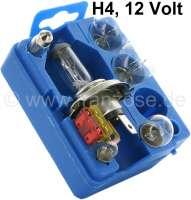 Glühlampenersatzbox H4, 12 Volt - 14042 - Der Franzose