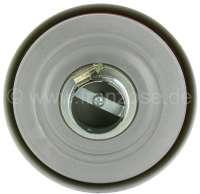 Luftfiltergehäuse aus Metall, rund, mit Filtereinsatz. Passend für Citroen für 2CV. Anschlussdurchmesser rund: 51,5mm. Aussendurchmesser: 175mm. Höhe: 50mm. Auch universal einsetzbar. -2 - 10201 - Der Franzose