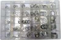 Dichtring Sortiment. Material: Aluminium. 300 Dichtringe, von 9x1 bis 28x26. Optimal für Bremse und Motor. | 21026 | Der Franzose - www.franzose.de
