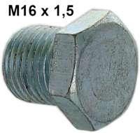 Ölablaßschraube (Motor + Getriebe) passend für Citroen 2CV, DS, HY, GS. Gewinde M16. | 10002 | Der Franzose - www.franzose.de