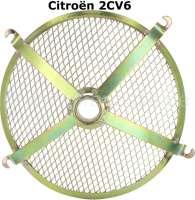 Gitter+f%FCr+das+Motorl%FCftergeh%E4use.+Passend+f%FCr+Citroen+2CV6.+Nachbau.+Das+Gitter+ist+verzinkt.+Befestigung+mit+4+Schrauben