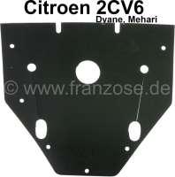 Gummi groß im Motorlüftergehäuse, montiert vor der Zündung. Passend für Citroen 2CV. Made in Germany. - 10493 - Der Franzose