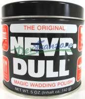 NEVER DULL Metall-Hochglanz Polierwatte. Super zum Aufpolieren von verchromten Metallen, Edelstahl und Alu. -1 - 20024 - Der Franzose
