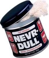 NEVER DULL Metall-Hochglanz Polierwatte. Super zum Aufpolieren von verchromten Metallen, Edelstahl und Alu. - 20024 - Der Franzose