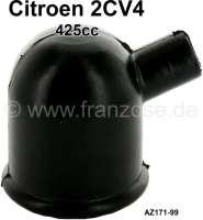 Öleinfüllstutzen Gummikappe, passend für Citroen 2CV von Baujahr 03/1963 bis 1970. Nachbau. Or.Nr.:  AZ17199 - 10254 - Der Franzose