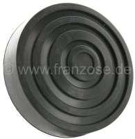 Pedalgummi rund, für Citroen 2CV mit stehenden Pedalen. (55mm Aufnahme) | 18085 | Der Franzose - www.franzose.de