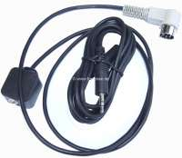 Adapterkabel für klassische Radios. Von 5 poligen DIN Anschluss auf 3,5mm Klinke. Somt lassen sich sehr einfach MP3 Player, Smartphones usw. anschließen. Passend für alle von uns gelieferten klassischen Blaupunkt Radios. - 18505 - Der Franzose